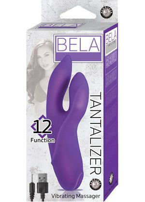 Bela Tantalizer lightweight, rechargeable vibe in the box.