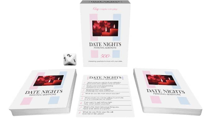 Kheper Games Date Nights Personal Questions game.