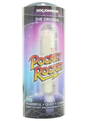 Doc Johnson's The Original Pocket Rocket in it's packaging.